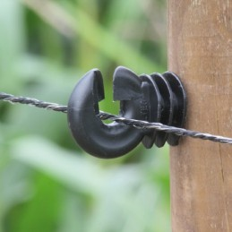 Schrikdraad zwart 3.5mm 30 PE 200m