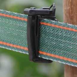 Schriklint 40mm groen versterkt 200m