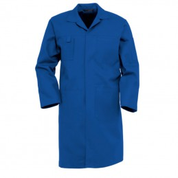 Katoenen Lange Stofjas 4023 korenblauw