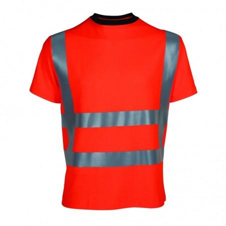 Signalisatie t-shirt fluor oranje