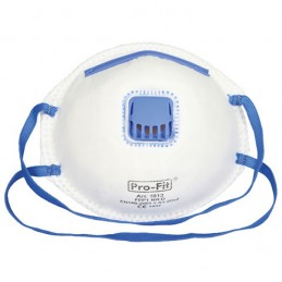 Stofmasker Fijnstof FFP1 met ventiel 3 stuks