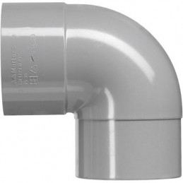 Martens PVC bocht 40mm 1xlm 90 graden grijs