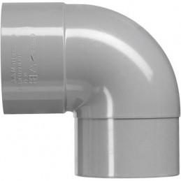 Martens PVC bocht 125mm 1xlm 87 graden grijs