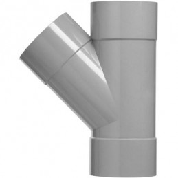Martens PVC T-stuk 32mm 3xlm 45 graden