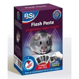 Flash Paste muizengif BSI 4x10gr