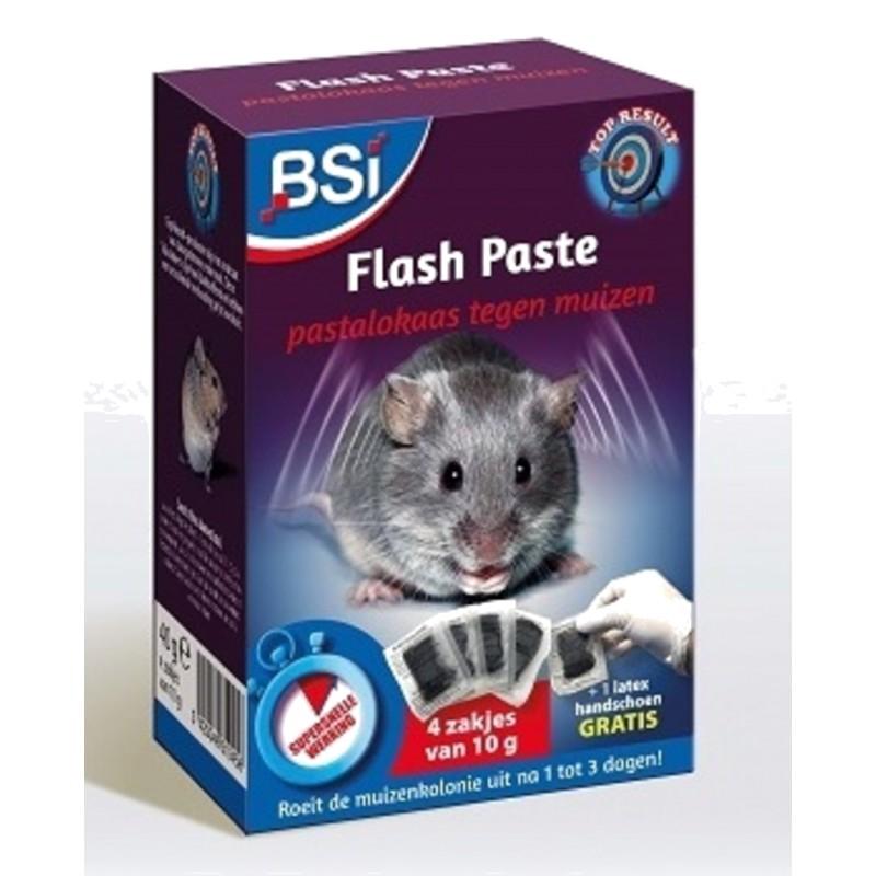 Flash Paste muizengif BSI 4x10gr
