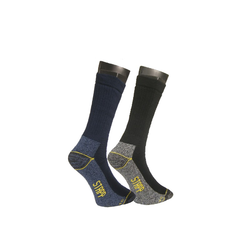 Allround sokken Stappyellow zwart