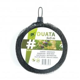Tuinnet Duata Zwart 5 x 10 m