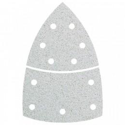 Hechtschuurblad 11-gats 95 mm wit K180