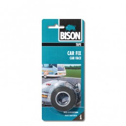 Bison Car Fix tape zwart rol 1.5 m x 19 mm