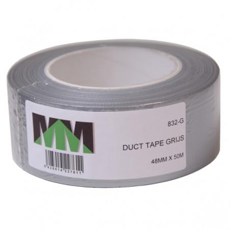 Duct Tape grijs 50 meter x 5 cm