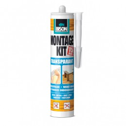 Bison montagekit transparant 310 ml