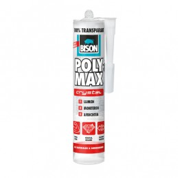 Bison Poly Max Crystal Express transparant 300 gram