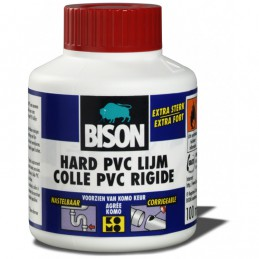 Bison hard pvc lijm 100 ml