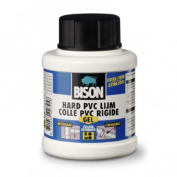 Bison hard pvc lijm gel 250 ml