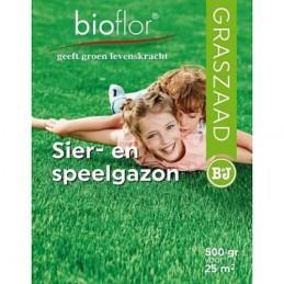 Bioflor graszaad Sier- en speelgazon 25 m2