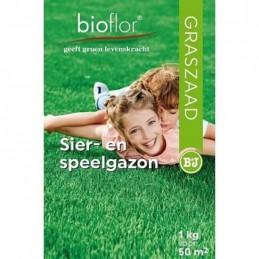 Bioflor graszaad Sier- en speelgazon 50 m2