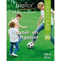 Bioflor graszaad Herstel- en Sportgazon voor 25 m2