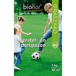 Bioflor graszaad Herstel- en Sportgazon voor 50 m2