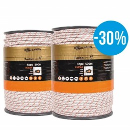 Gallagher Duopack TurboLine Cord 2x500 meter wit