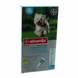 Advantix Hond Spot On 100/500 tot 4-10kg