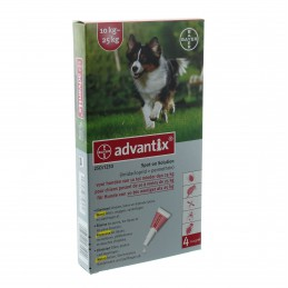 Advantix Hond Spot On 250/1250 tot 10-25kg