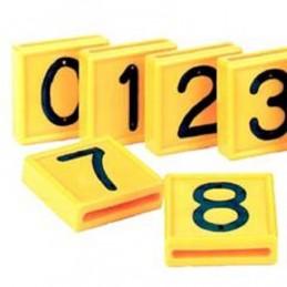 Kokernummer geel 10 stuks nr. 1