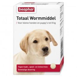 Totaal wormmiddel hond/puppy 6 tabletten