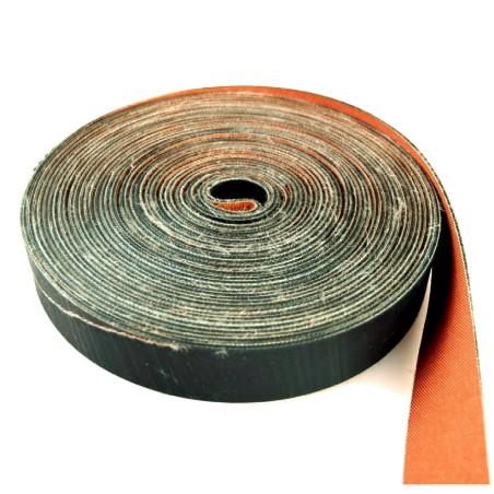 Boomband 15m rubber/canvas  +/-4cm