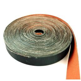 Boomband rubber/canvas +/-5cm 15m