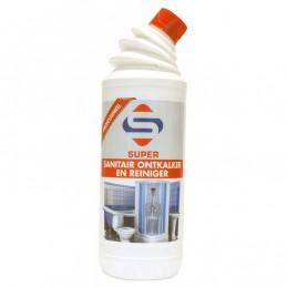 Super Sanitair ontkalker en reiniger 1 liter