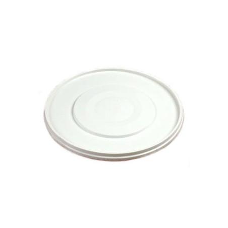 Deksel voor emmertje kunststof wit 10L