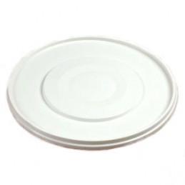 Deksel voor emmer kunststof wit 33L