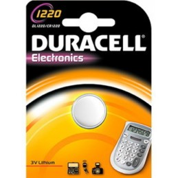 Duracell Lithium Knoopcel batterij CR 1220 3V