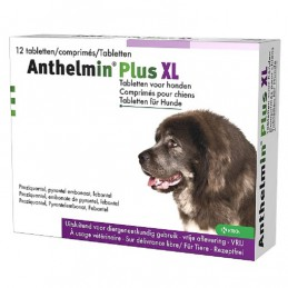 Anthelmin Plus hond XL 12 tabletten
