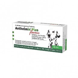 Anthelmin Plus Flavour worm tabletten hond 4st
