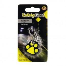 BZ Safety Gear Veiligheidslampje Paw Hond