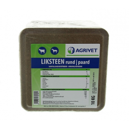 Agrivet liksteen rund / paard 10 kg