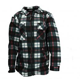 Fleece jas GT04 heren polar zwart