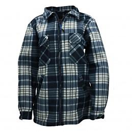 Fleece jas GT04 heren polar blauw