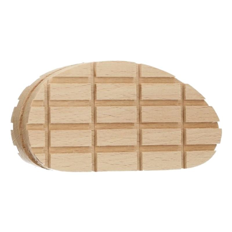 Klauwblokje hout XL