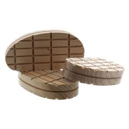Klauwblokje hout 100 stuks