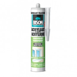 Bison acrylaatkit transparant 310 ml