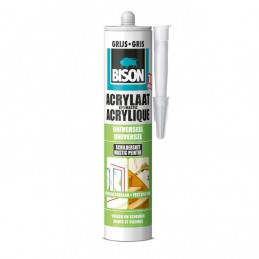 Bison acrylaatkit grijs 310 ml