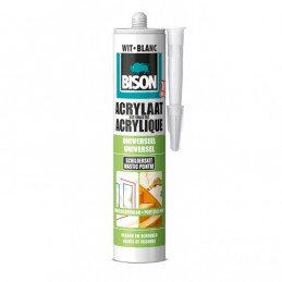 Bison acrylaatkit wit 310 ml