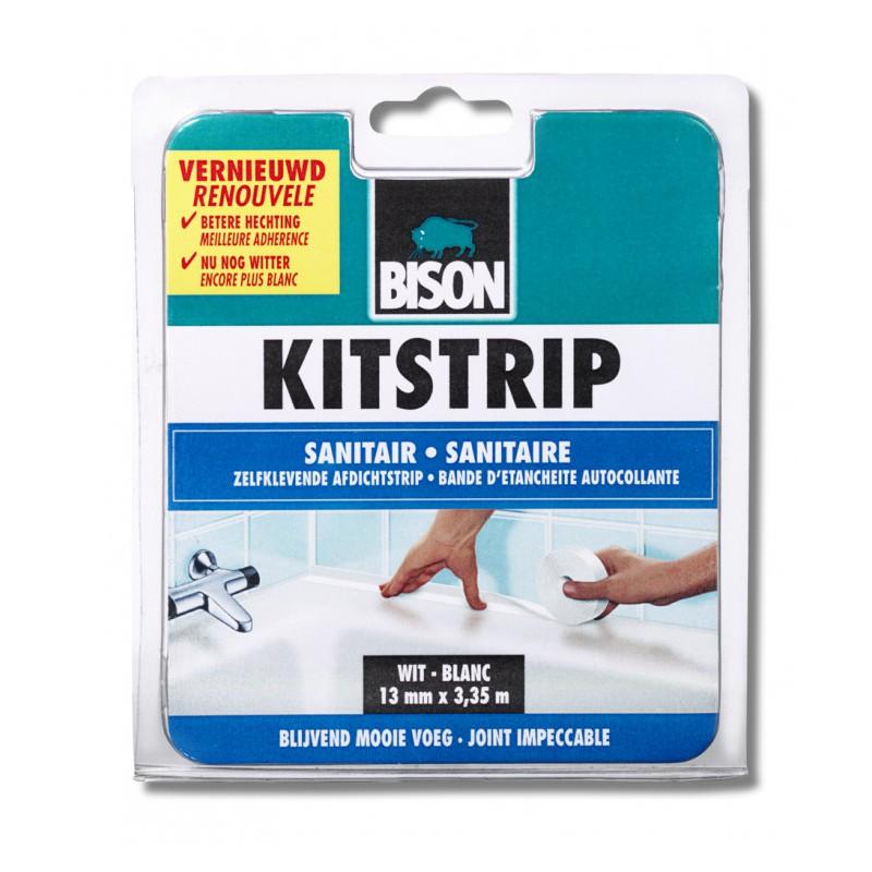Bison kitstrip sanitair wit 22 mm x 3.35 m