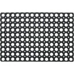 Deurmat open rubber ringmat 100 x 150 cm