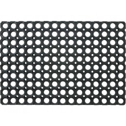Deurmat open rubber ringmat 60 x 80 cm