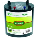 Batterij 6 Volt 510Wh rond 100Ah