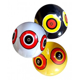 Scare Eye ballon zwart
